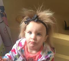 toddler hair toddler s hair stands up like troll doll thanks to genetic