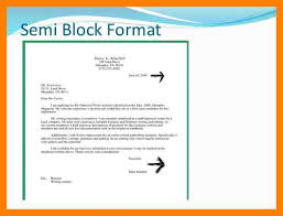 best ideas of example of semi block format letter with cover