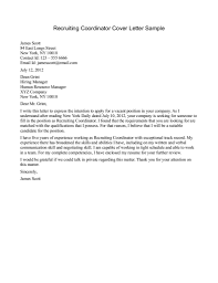 Effective Cover Letter For Resume Cover Letter For Recruiter Images Cover Letter Ideas