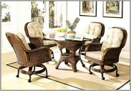 Dining Room Chairs With Arms And Casters Great Design For Kitchen Chairs With Casters Ideas Dining Room