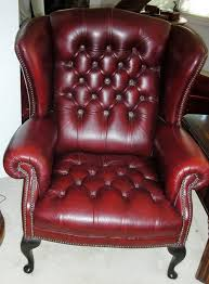 Leather Wing Back Chairs Leather Wingback Chair Uk