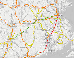 Boston Rail Map by System Maps Model Railroad Hobbyist Magazine Having Fun With