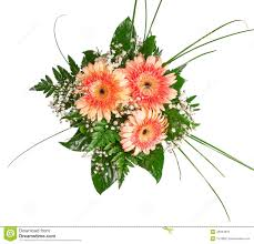colorful flower bouquets for birthday wedding stock photo image