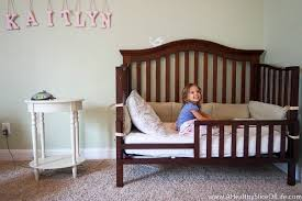 Transitioning From Crib To Bed The Big Bed Transition That Wasn T A Healthy Slice Of