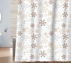 bathroom curtains ideas snowflake shower curtain hooks snowflake