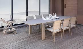 Mobilier Terrasse Design Table Jardin Extensible En Aluminium Vente En Ligne Italy