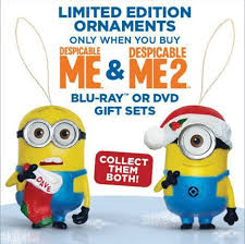despicable me 1 2 limited edition gift set