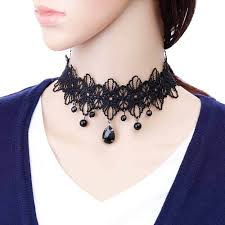 cute choker necklace images Gem retro vintage choker necklace barbara cute jpg