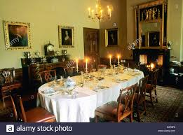 Homes And Interiors Scotland Edinburgh The Georgian House Dining Room Interior Scotland Uk
