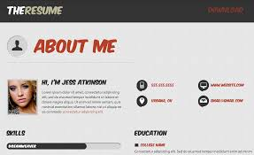 resume website template resume templates