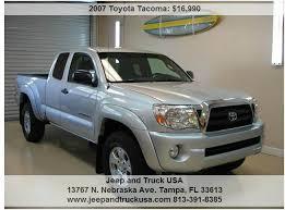 toyota trucks usa 2007 toyota tacoma prerunner v6 4dr access cab 6 1 ft sb 4l v6 5a