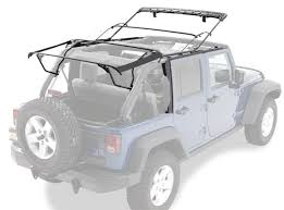 jeep wrangler unlimited softtop bestop 5500101 factory style bow kit for 10 17 jeep wrangler