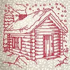 cabin designs free this free embroidery design is called cabin free