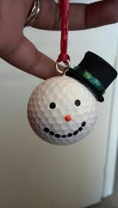 golf ornaments pinteres