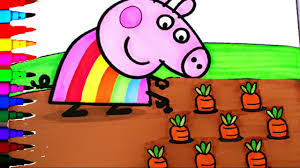 Peppa Pig 2017 Book Peppa Pig Coloring Book Pages Activities Rainbow