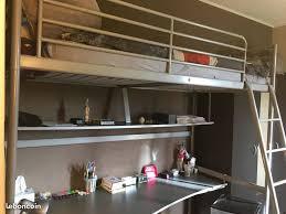 lit mezzanine avec bureau intégré achetez lit mezzanine avec occasion annonce vente à euphraise