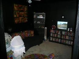 Black Painted Walls Bedroom Cool 30 Room Painted Black Design Ideas Of Rooms Painted Black