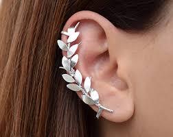 ear cuffs ireland cuff wrap earrings etsy ie