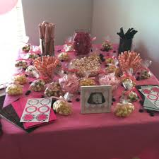 Pink And Black Candy Buffet by 105 Best Baby Shower Images On Pinterest Birthday Party Ideas