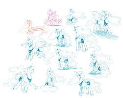 mlp luna sketch by yoonny92 on deviantart