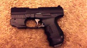 walther ppq laser light walther cp99 compact w laser review youtube