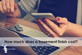 How Much Does It Cost To Refinish A Basement by How Much Does A Basement Finish Cost Elkstone Basements