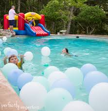 Pool Party Ideas Simple Disney Frozen Birthday Party Frozen Party Perfectly