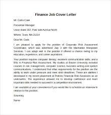 international financial analyst cover letter junior financial