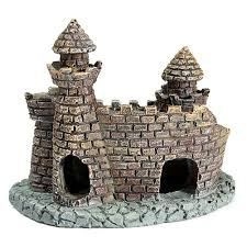 aliexpress buy resin castle aquariums decorations