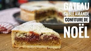cuisine de noel facile gâteau sablé amande confiture ma recette facile