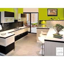 cuisine en bois frene meubles de cuisine devis cuisine bois contemporain