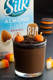 vegan halloween pudding cups recipe namely marly