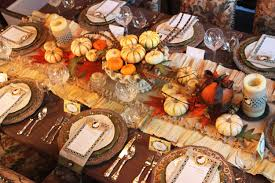 cheap thanksgiving decorating ideas table decoration image idea