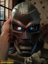 Dr Doom Mask The Fantastic Four Doctor Doom Mask Replica Movie Prop