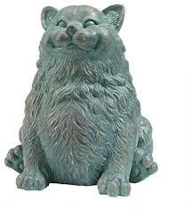 fat cat feline lover statue sculpture contemporary decorative