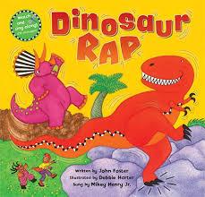 Barefoot Books The Barefoot Book Of Children Dinosaur Rap