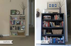 Annie Sloan Painted Bookcase Beth Brevik Bookcase Upcycle