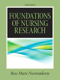 foundations of nursing research research design evidence based