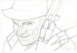 freddy krueger free coloring pages on art coloring pages