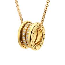 set of gold yellow gold bulgari jewellery