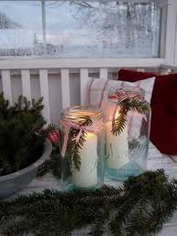 Using Mason Jars To Decorate For Christmas by Outdoor Christmas Decoration Ideas 30 Simple Displays