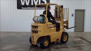 caterpillar v30b forklift youtube