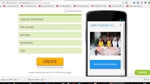 membuat aplikasi android video cara mudah membuat aplikasi android dari video youtube