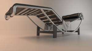 home design chaise lounge chair le corbusier lc4 replica cowhide