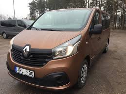 renault mpv 2017 renault trafic 2017m archives transporto nuoma