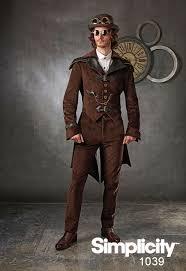 Mens Steampunk Halloween Costumes Steampunk Costume Men Pattern Includes Jacket Styles
