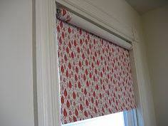 Custom Fabric Roller Shades Fabric Roller Shades With Pompom Trim Diy And Crafty Projects