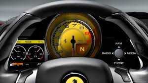 Ferrari 458 Yellow - download 1366x768 ferrari 458 yellow gauges wallpaper