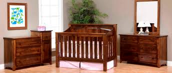 amish baby furniture imade of solid wood usa made cribs baby