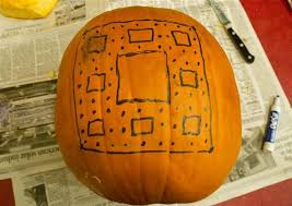 how to carve fractals and stars on pumpkins math craft